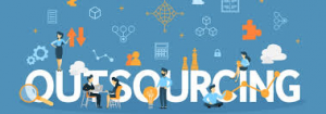 What does outsourcing mean?
